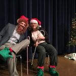 Justin King and Maria Archer, Christmas Fund Drive
