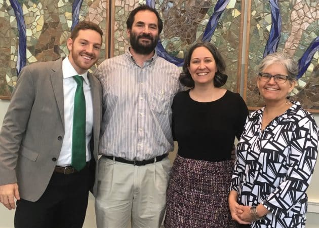 Faculty and staff who shared personal stories during the week: Justin King, high school principal; Wendell Shank, Spanish teacher; Shannon Roth, government teacher, Patsy Seitz, director of academics and English 7 teacher.