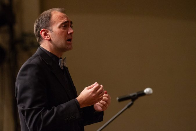 Choral director, orchestra conductor and music teacher, Jared Stutzman.