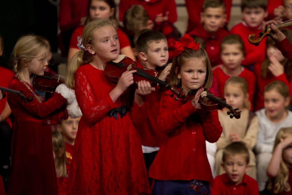 Elementary Christmas program 2018