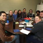 High school Neighbor Group with Jennifer Young.