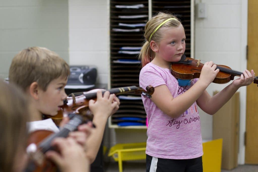 Elementary strings program