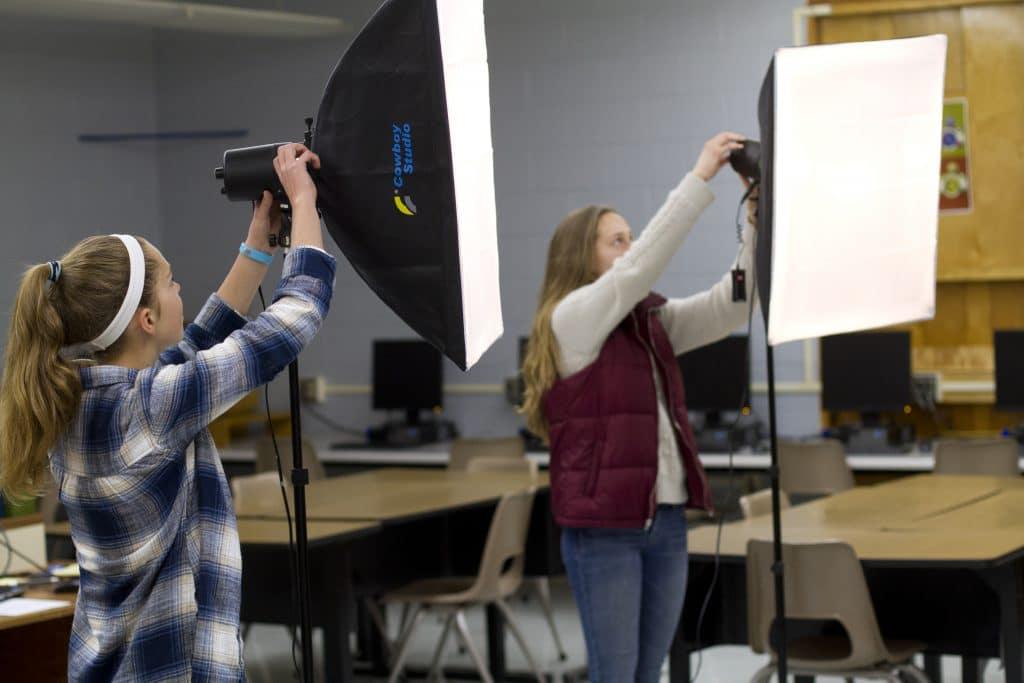 Digital photography class
