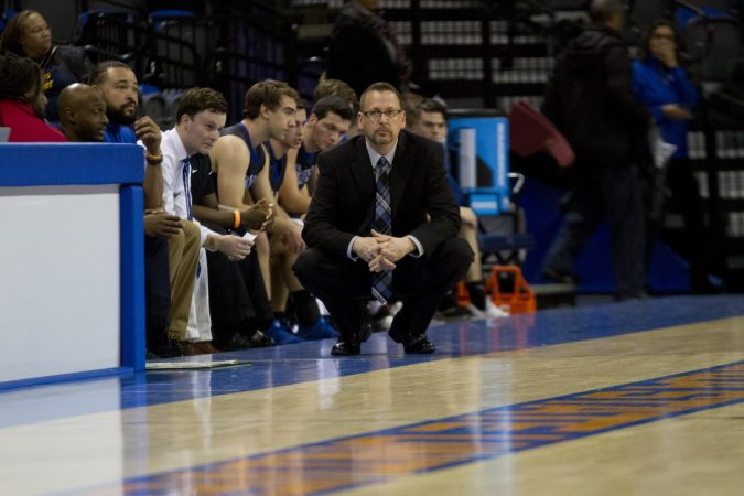 Chad Siebert, boys varsity basketball coach, 2018-2021