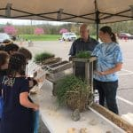Felicity at Smithland Elementary School Ag day in April 2019