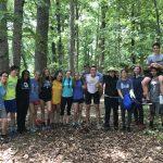 Track and Field team at Massanutta Springs
