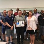 Dave Bechler recognition at the May 2019 meeting on May 1, 2019 of Blue Ridge Conference and Virginia Independent Conference