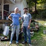Michaela Mast '13 and Harrison Horst. Photo by Sarah Longenecker
