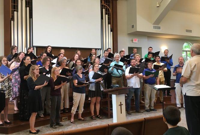 Touring Choir Romania Benefit Concert