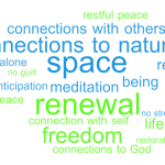 During fall conference staff reflected on what they want to include in Sabbath practices