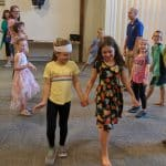 EMES families enjoyed international dances.