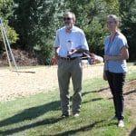 Teachers Lee Good and Jodie Hertzler