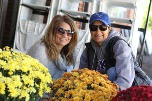 Jen Aldefrer and Stephanie Forbes, decorators