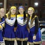 Cheerleader uniforms, circa 198?