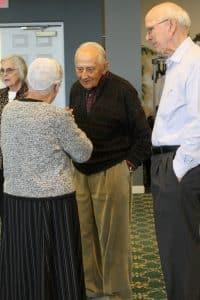Class of '59 reunion (Robert Mast, center)