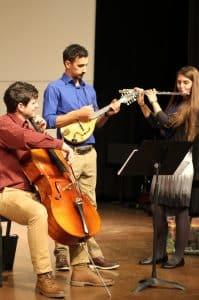 Caleb Schrock-Hurst, Perry Blosser and Rachel Shenk Stutzman, class of 2014