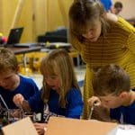 EMES visits HS science students
