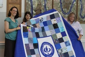 Centennial Quilt is completed and dedicated in chapel, fall 2019