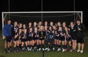 Varsity girls soccer, VISAA state champions, 2013