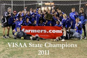 Boys soccer VISAA state champions