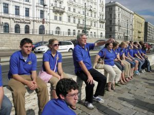 Touring Choir in Europe, 2012