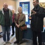 Paul Lehman, head of school for Eastern Mennonite School, discusses the new elementary school on Tuesday. Megan Williams / DN-R
