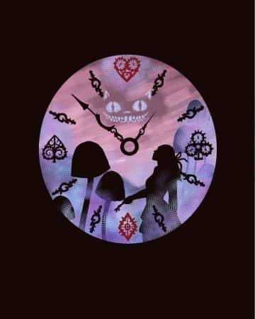 Alice in Wonderland artwork by Anneke McDonald '21