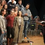 VOCES8 workshop with EMS Touring Choir, February 2020