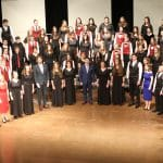 """EMS Chamber Choir performs """"Underneath the Stars"""" with VOCES8, February 16, 2020"""