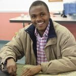 Waega Samuel is an international visitor from Tanzania through the Mennonite Central Committee IVEP program this year.