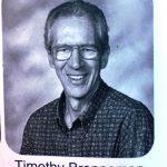 Timothy Brenneman, 1951-2020, in the 2010 Ember yearbook