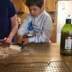 Landon's pita bread