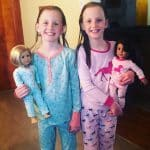 First graders share photos of their PJ Reading Day