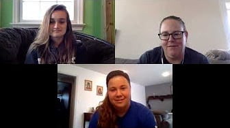 COVID-19 PE Olympics interview with Bryanna Stutzman and Bethany Shultz