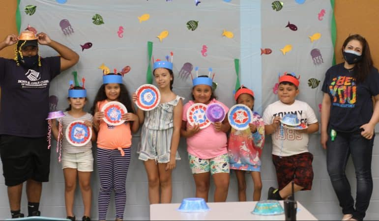 """""""Under the sea"""" is the theme for the Boys and Girls Club summer camp, held at EMS during July 2020"""