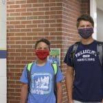 Nolan and Simon Beach join grades 7 and 12