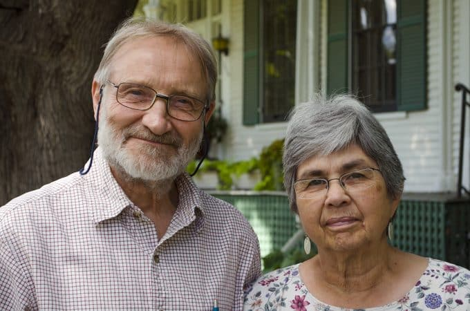 Keith and Ellen Helmuth, '55, Lifetime Service Award 2020