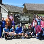 2017 Tennessee E-term, Brian Buchanan, Lizzy Miller, Elwood Yoder and students