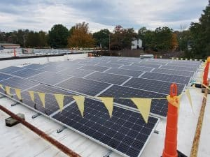 EMS solar array