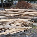 Scrap cedar available for sale to benefit EMS