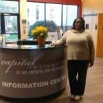 Pastor Akeia Haddox-Rossiter of Capital Christian Fellowship, Lanham, Maryland.