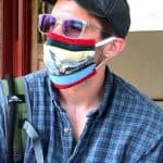Nick Boshart '12 sewed and sold face coverings early in the pandemic, capturing strong interest among EMS alumni