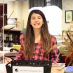 Julianne Ross keeps things lively in the library