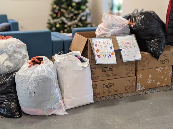 EMES Christmas giving project