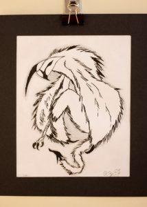 Alyssa Forren, 11, Graphite and Ink