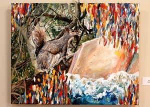 Anneke McDonald, 11, Acrylic on Canvas