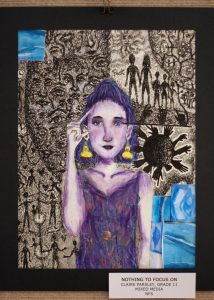 Claire Parsley, 11, Nothing to Focus On , Mixed Media