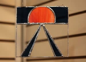 Joelle Blosser, 11, Midnight Harvest Moon, Stained Glass