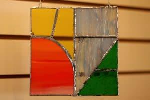 Ravi Holsinger, 11, Stained Glass