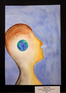 Sophie Howard, 12, Together, Watercolor